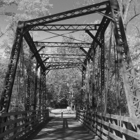 Black and White - Iron Bridge